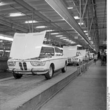 Fabrica BMW en Munich - 1968