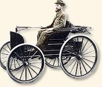 Frank Duryea automovil de 1 cilindro