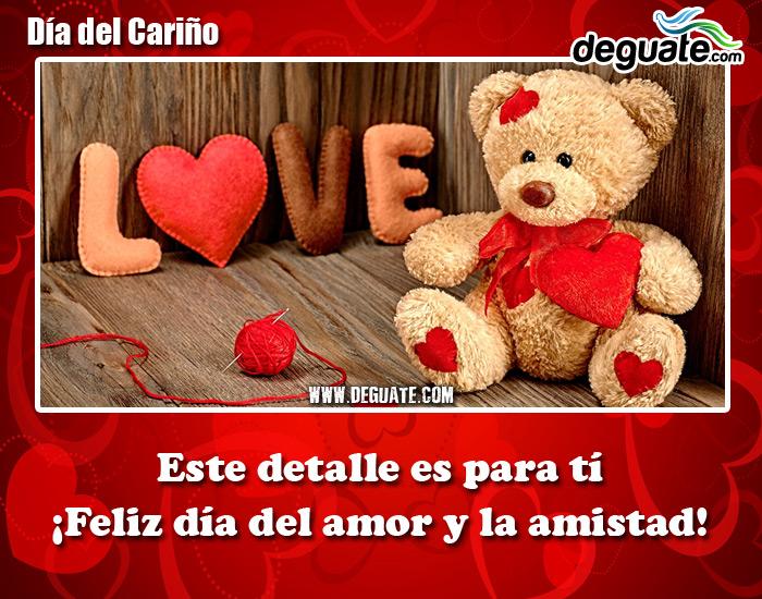 Esta Postal 018 Un Detalle Para Ti Feliz Dia Amor